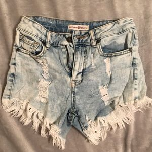 Altar'd State Jean shorts! Size 24